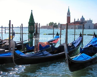 Gondolas, Venice Italy