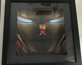 Marvel's Iron Man Inspired Funko Pocket Pop! Frame