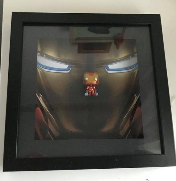 Avengers Iron Man Made Up Picture Frame Other Antique Decorative Arts Antiques