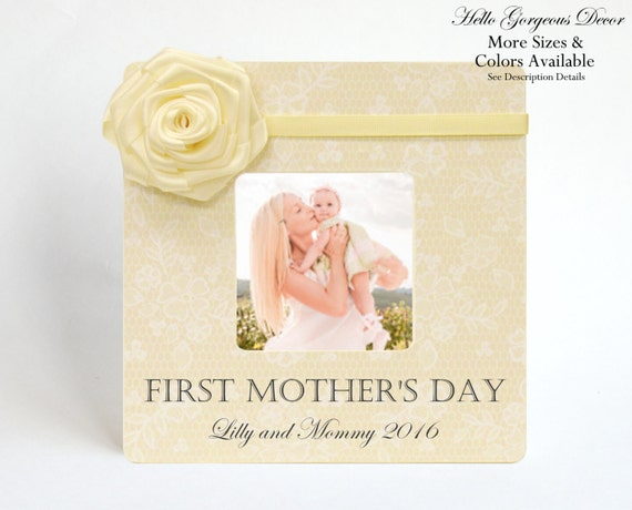 Mothers Day Gift FIRST MOTHERS DAY Picture Frame To Mom