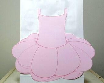Ballerina Favor Goody Bags - Ballerina Favor Bags, Ballet Favor Bags