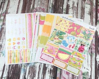 FOIL Sun B6 Kit, planner stickers
