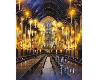 Diamond Embroidery Harry Potter  5d Diy diamond painting cross stitch Home decor