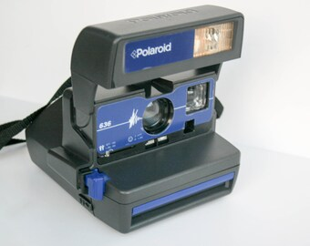 Polaroid 636 - Blue - tested and working