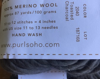 Bobble Sheep Pillow Kit from Purl Soho