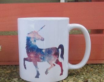 Unicorn Mug, Unicorn Coffee Mug, Mug with Unicorn, Celestial Unicorn, Unicorn Design Mug, Ceramic Mug, Original Mug, Unicorn Ceramic Mug