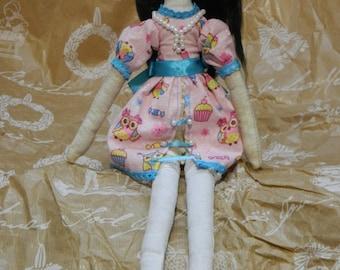 Textile doll Tilda