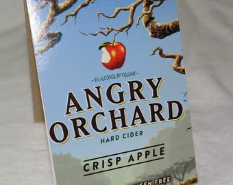 Spiral Sketchpad from Recycled Angry Orchard Hard Cider Crisp Apple 6-Pack Carton