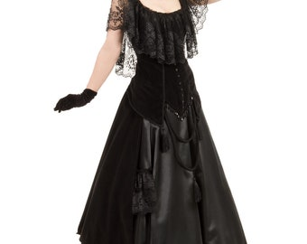 120313-4-5 Countess Lucia Victorian Bustle Dress