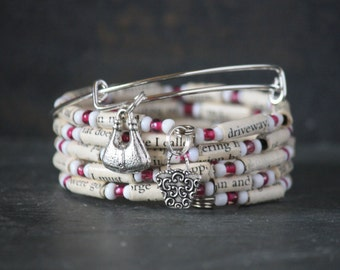 Carrie Bradshaw, The Carrie Diaries, Carrie Bradshaw gift, The Carrie Diaries gift, The Carrie Diaries set, The Carrie Diaries bracelet