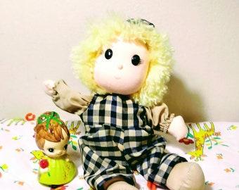 Wind Up Disney Small World Swedish Boy Doll