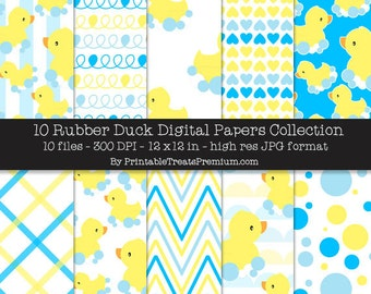 Rubber Duck Digital Papers