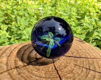 Large 1.83 Inch Universal Energy Meditation Marble,Glass Marble,  Boro Marble, Large Marble, Collectible Marble, Glass Marble, Vortex Marble