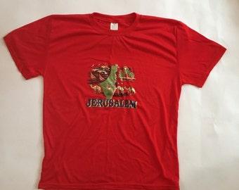 Soft Thin Jerusalem shirt