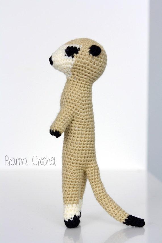 Único Patrón De Crochet Meerkat Friso - Patrón de Vestido de Novia ...