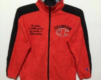 Vintage champions zipper jacket for kid