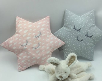 Available * small star shaped cushion