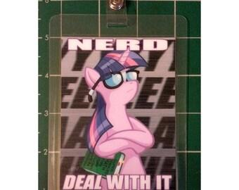 """My Little Pony 3x4"""" Laminated Badge, Twilight Sparkle"""