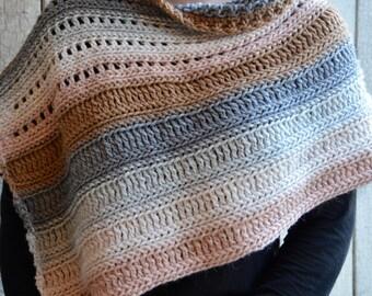 The Coffee Shop Wrap - Instant Download PDF Crochet Pattern