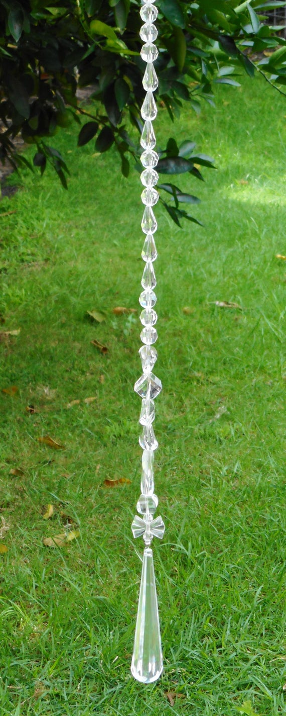 suncatcher outdoor decor hang them in trees garden decor