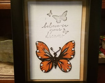 Quilled Butterfly Believer is the perfect gift for the graduate in your life!