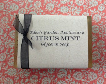Citrus Mint Soap