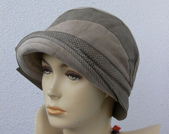 Women's elegant hat,genuine Italian leather,velour leather,grain leather,leather cap,winter,autumn,spring,very soft leather,insulated,suede
