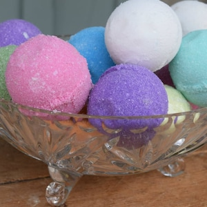Fizzy Bath Bombs, Bubble Bath, Bath Soap, Fizzy, Bath and Beauty, Spa and Relaxation, Natural, Organic, Vegan