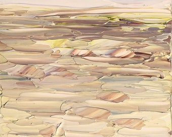 Grassy Foothills – Small Landscape (on masonite) by Ruth LaGue