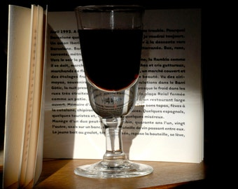 the glass and the book
