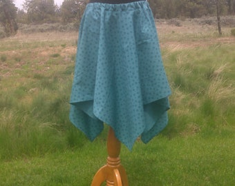 Turquoise Point Skirt
