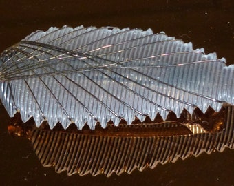 Vintage 30's insect type plastic hair clip  ornament