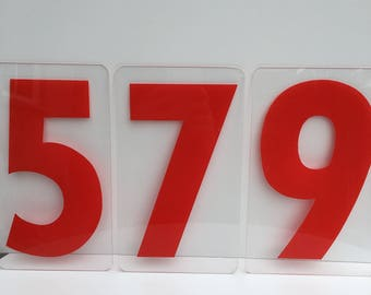 Marquis or  Gas Station numbers