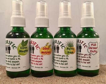 POO-RIFIC Poo Spray, Toilet Spray, Odor Spray, Doody Free, Poo Gone, Great Gift!