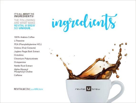 revital u ingredients printable download script cover