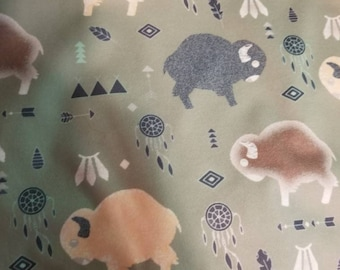 Custom buffalo Diaper you choose type and size Nb/Sm or Onesize