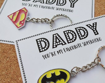 Father's Day Special Daddy You're my Favourite Superhero - Batman / Superman