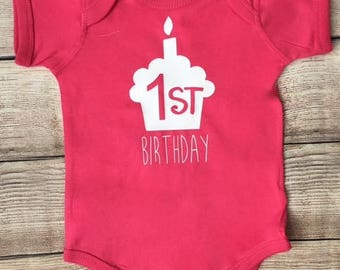 First Birthday Boy or Girl Infant Outfit   1st Birthday Infant Bodysuit   One Outfit    Birthday Outfit   Smashcake outfit