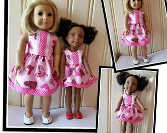 AG and WW Heart Dress for Valentine's Day