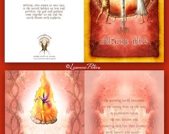 Beltaine - High Holiday - Sabbat Card