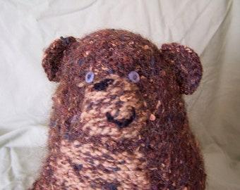 Brown Bobo Bear Stuffed Toy