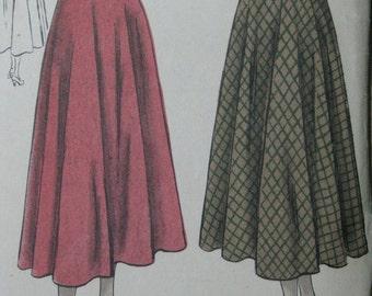 Vogue 3236, late 1940s bias skirt