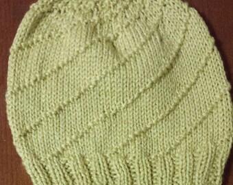 Bamboo Spiral Hat
