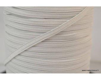 Stitch 4mm white elastic