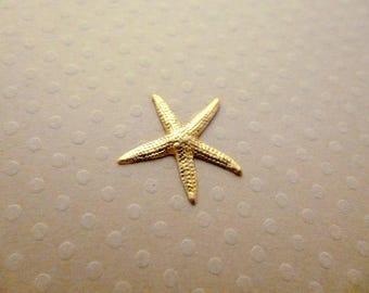 Gold 19 mm - 0061 PMCD star print