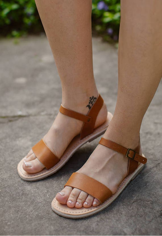 Camle Sandals Shoes Sandals Summer Leather Sandals Summer Sandals Sandals Leather Handmade Sandals Brown ppArFqx