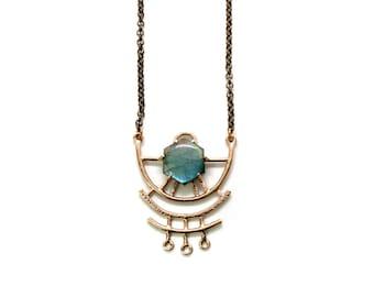 Dreamweaver Necklace // Labradorite