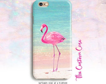 Flamingo Phone Case, Pink Flamingo Phone Case, Neon Pink Flamingo Case, Iphone X Case, Iphone 8/8+, Samsung Galaxy S3/S4/S5/S6/S6 Edge