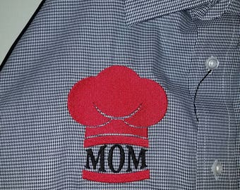 Mom Apron - Embroidered