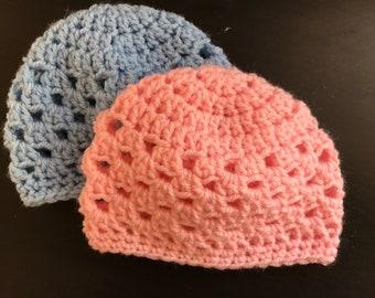 Handmade Crochet Baby Beanie